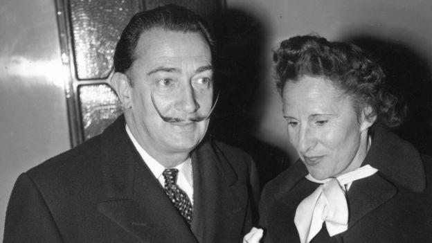 Salvador y Gala Dalí