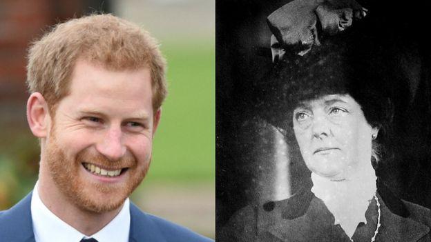 哈里王子和高曾祖母