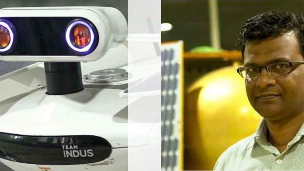 Rahul Narayan e seu veículo lunar