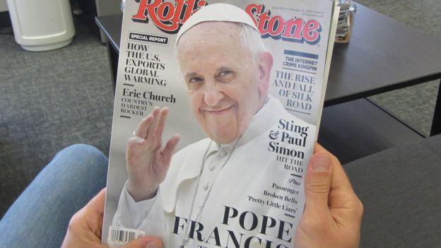 Cubierta de Rolling Stone