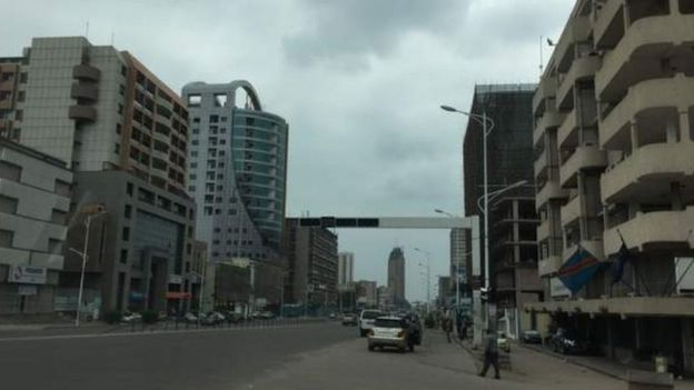 Mji wa Kinshasa nchini DR Congo