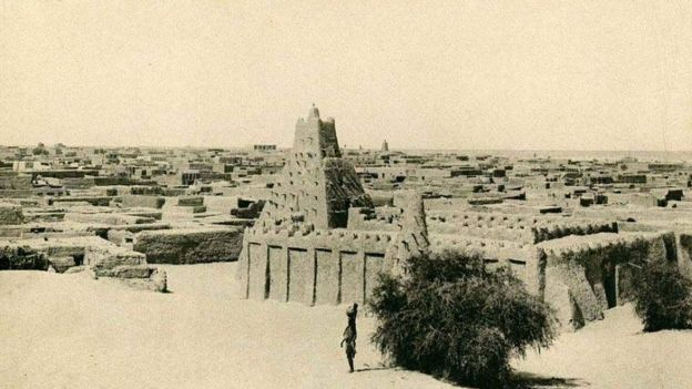 La mezquita de Sankore