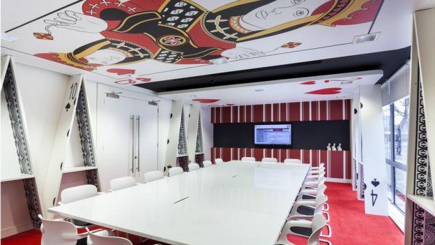 Sala de reuniones de Waterloo