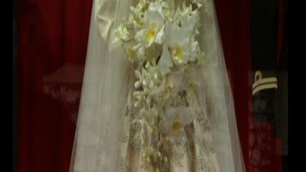 Свадебный букет королевы