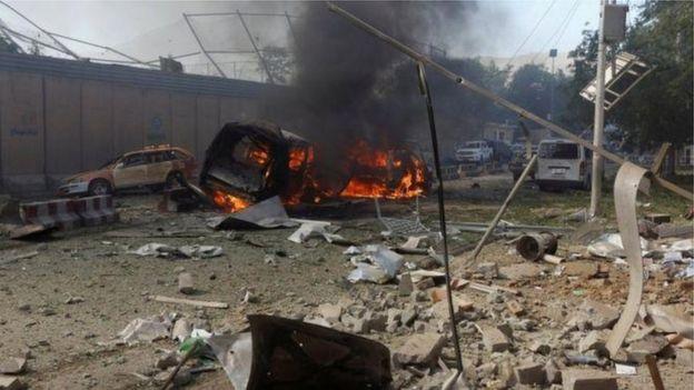Nổ tại Kabul