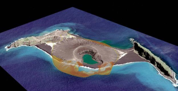 L'isola a settembre 2017. (Foto: NASA 2017 Digital Globe)