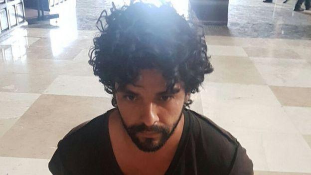 El presunto atacante del padre Machorro.