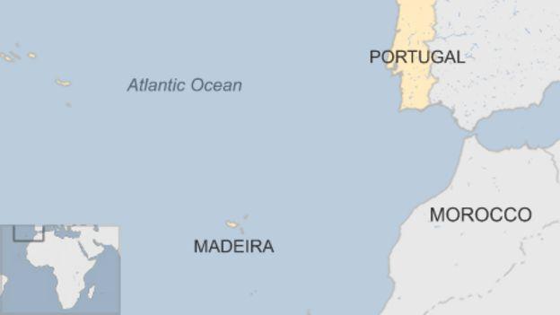 Madeira Wildfires Three Dead As Flames Reach Funchal BBC News - Portugal map madeira