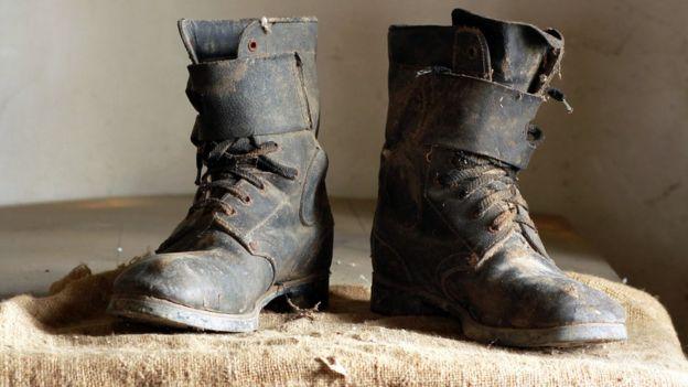 botas de minero