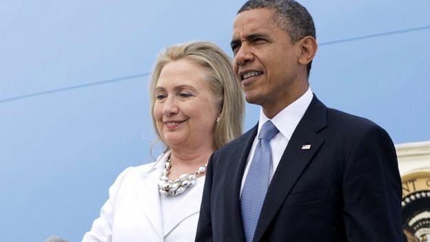 Clinton fue secretaria de Estado durante la primera gestión de Obama.