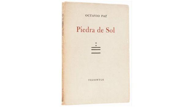 Portada del libro Piedra de Sol de Octavio Paz