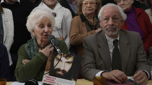 Estela de Carlotto y Horacio Verbitsky