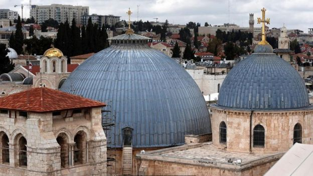 La ville est devenue au IVe siècle une ville de pèlerinage pour les chrétiens.