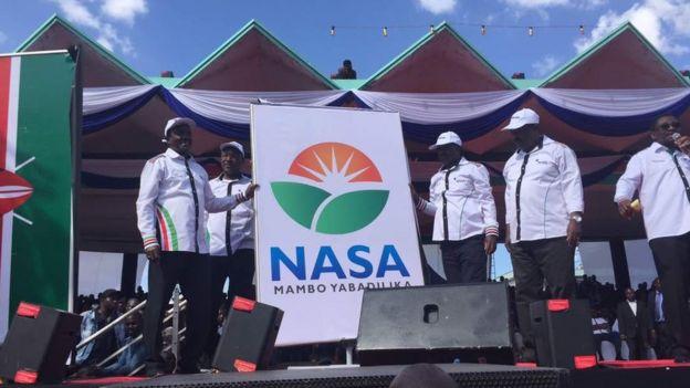 Nembo ya muungano wa upinzani ambayo imezinduliwa Uhuru Park