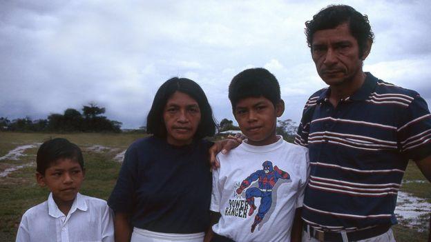 De los Galindo sólo quedan vivo Ciro y su hijo Esneíder (izquierda). (Foto: Ciro & Yo)