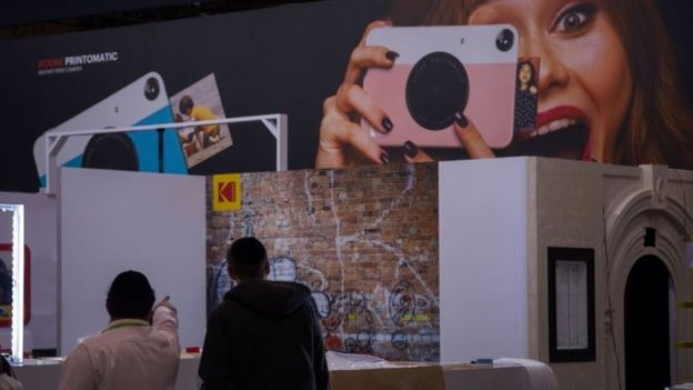 Kodak stand at CES