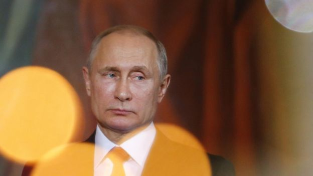 EL presidente ruso Vladimir Putin