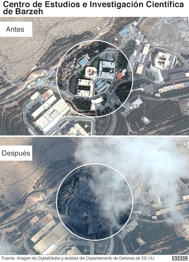 Lugar bombardeado