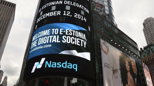 دعاية في إستونيا للمجتمع الرقمي