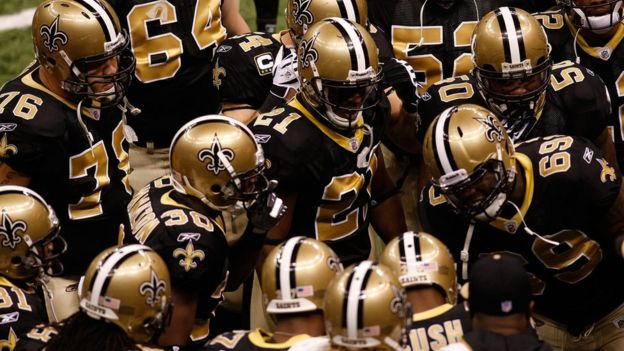 Jugadores de los New Orleans Saints