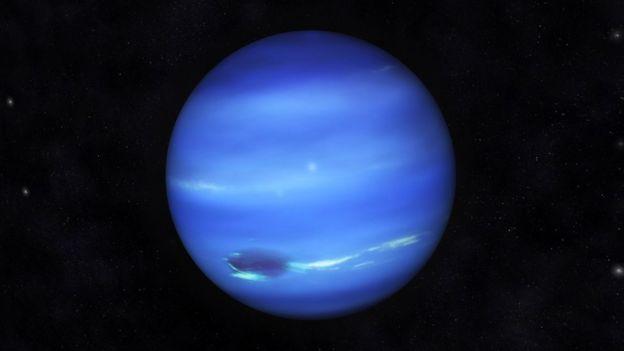 Imagen de Neptuno.
