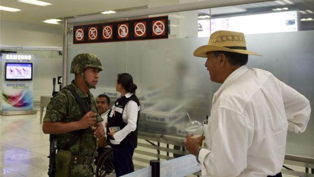 El aeropuerto de la capital mexicana es un