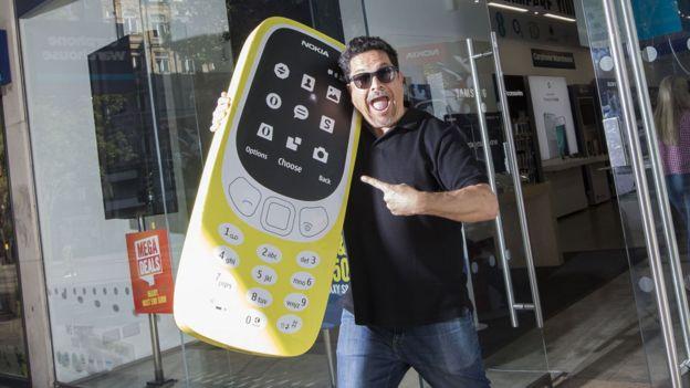 Dom Joly na Nokia 3310