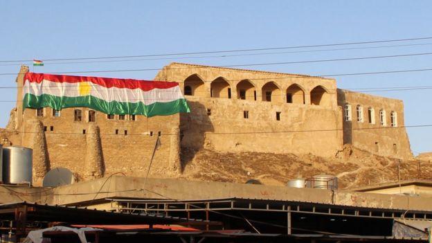 Türkmenler için de özel bir yeri olan tarihi Kerkük kalesi