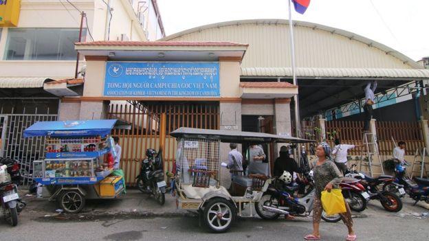 Văn phòng Tổng hội Người Campuchia gốc Việt tại thủ đô Phnom Penh