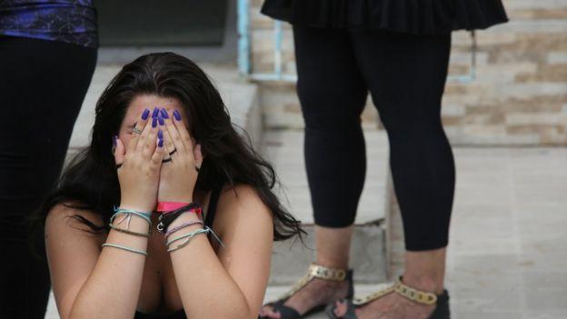 Colega chora morte de Marta Avelhaneda Gonçalves, de 14 anos