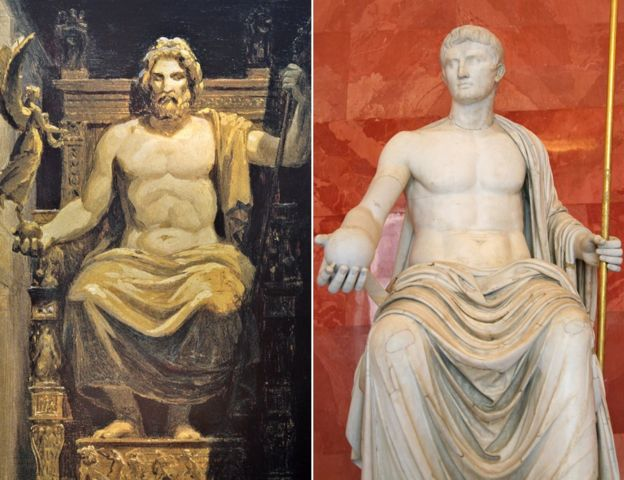 What did jesus really look like bbc news phidias olympian zeus and statue of augustus publicscrutiny Images