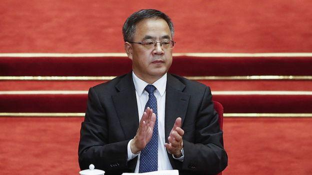 前國家主席胡錦濤的親信胡春華