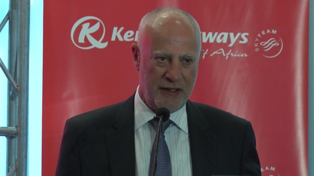 Mwenyekiti wa bodi ya Kenya Airways Michael Joseph