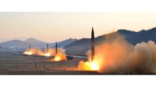 Bắc Hàn phóng thử nghiệm hỏa tiễn