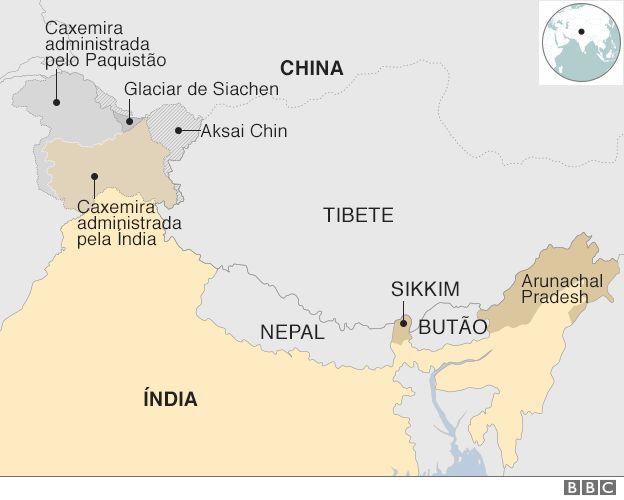 Resultado de imagem para aksai chin entre china e india