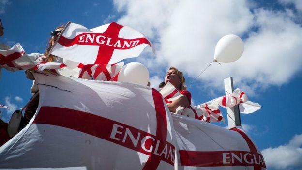 Празднование Дня св. Георгия в Манчестере