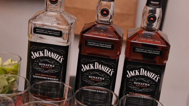 Whiskey bourbon Jack Daniels