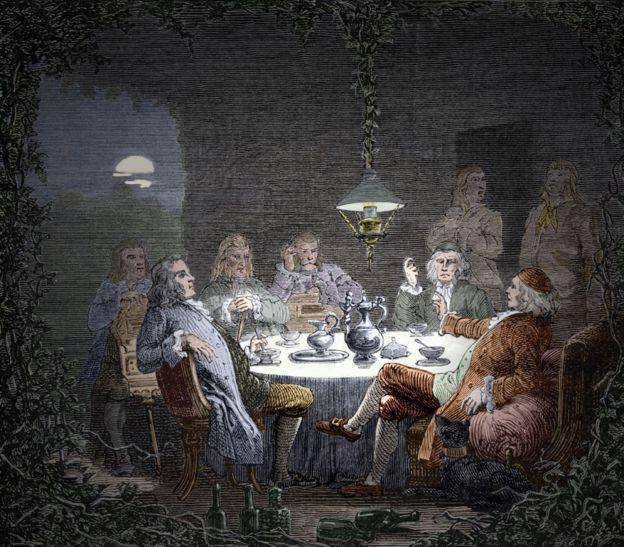 Reunión de la Sociedad Lunar