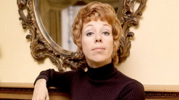 Curtains Ideas carol burnett curtain rod : Carol Burnett to get lifetime achievement award - BBC News