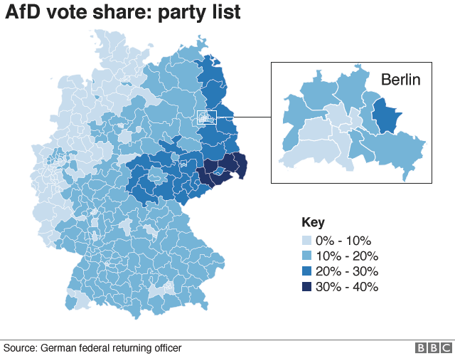 German Election Why This Is A Turning Point BBC News - Bbc election map us