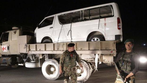 حمله طالبان به نظامیان افغان