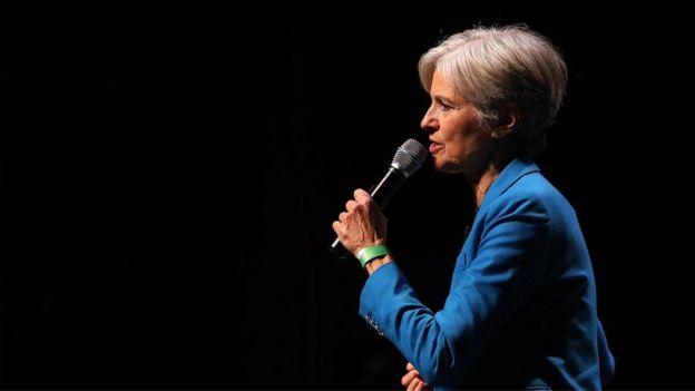 Jill Stein waxa ay ka mid ahayd musharixiinta madaxtinimada Maraykanka