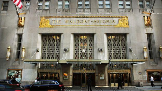 2014年,安邦以19.5億美元收購希爾頓旗下的紐約華爾道夫酒店