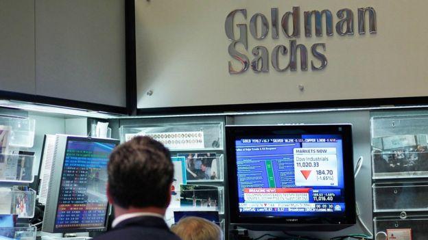 Un empleado de Goldman Sachs
