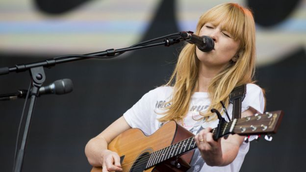 Singer Lucy Rose