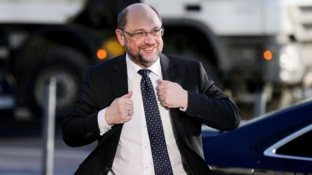 Martin Schulz, leader of Germany's SPD party