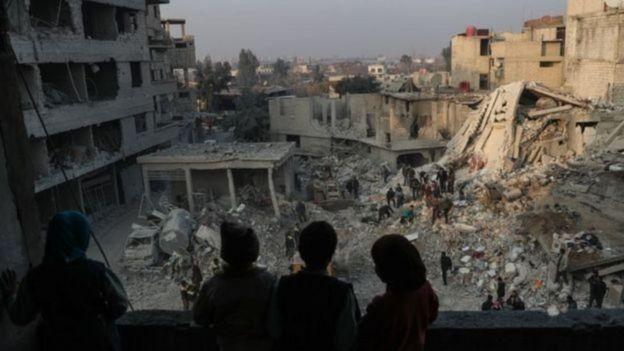 Síria em guerra