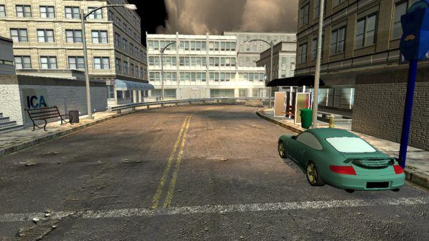 Auto en la calle
