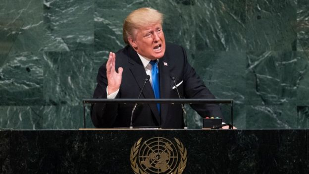 Donald Trump nas Nações Unidas