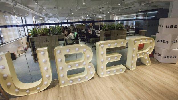 Oficinas de Uber en Hong Kong